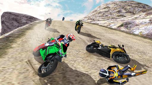 Hill Top Bike Racing 6 تصوير الشاشة