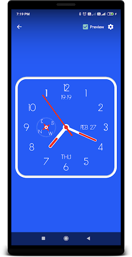 Clock Live Wallpaper screenshot 5