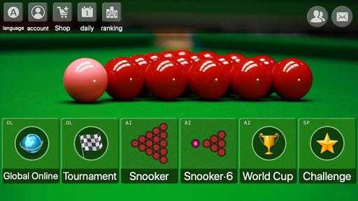 snooker game - Offline Online free billiards screenshot 1