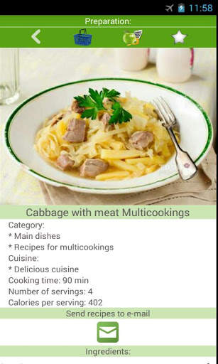 Multicooking recipes screenshot 3