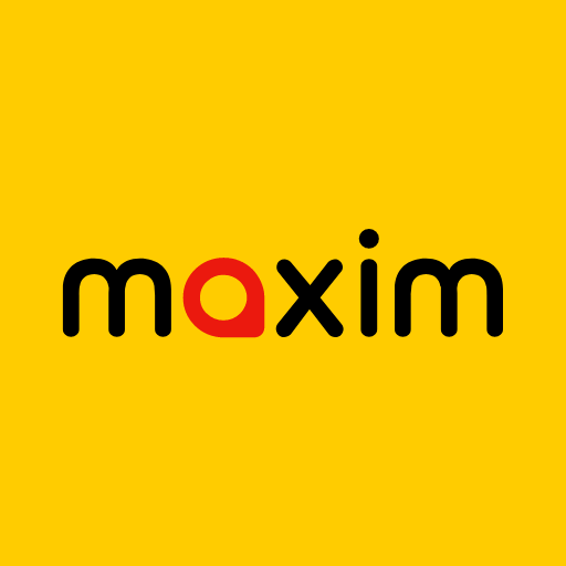 maxim — order taxi, food and groceries delivery icon