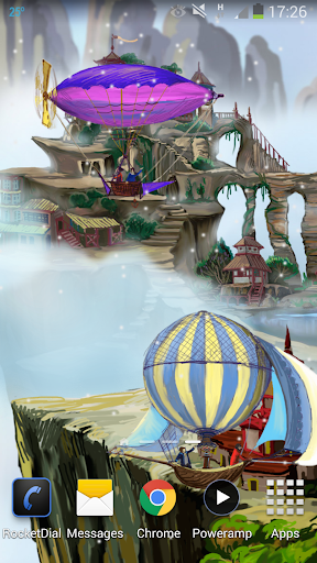 Flying World Live Wallpaper 8 تصوير الشاشة