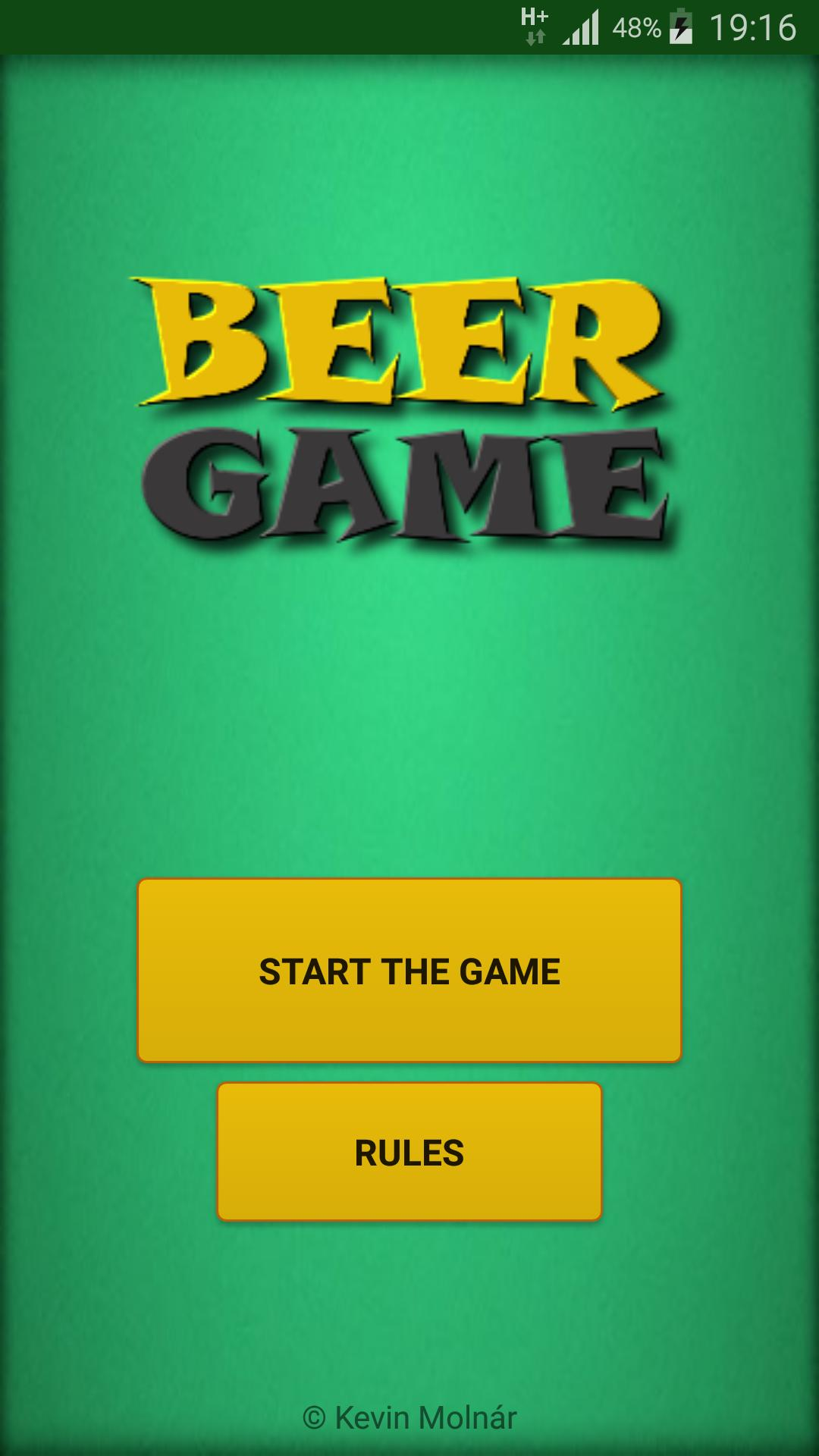 Beer Game - The Drinking Game 1 تصوير الشاشة