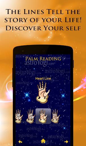 Palm Reading 9 تصوير الشاشة