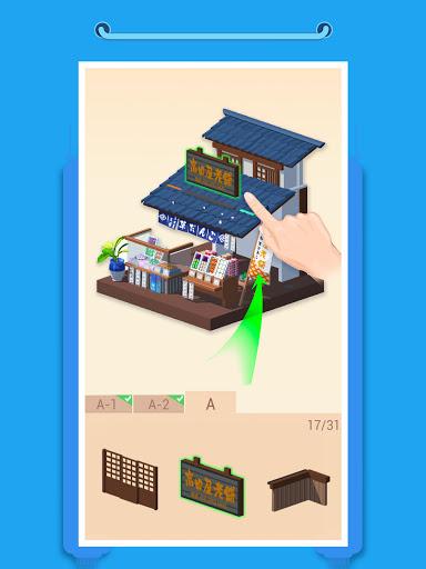 Pocket World 3D - Assemble models unique puzzle screenshot 7