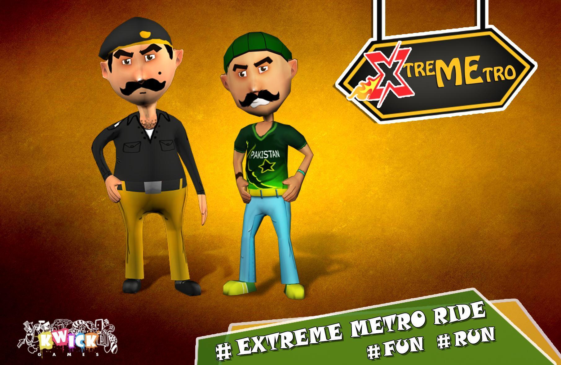 Extreme Metro Run 8 تصوير الشاشة