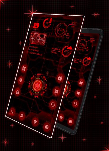 Circuit Launcher 2021 App lock, Hitech Wallpaper 15 تصوير الشاشة