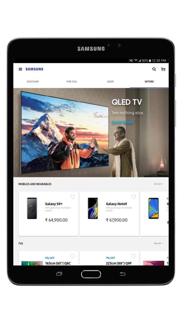 Samsung Shop screenshot 12