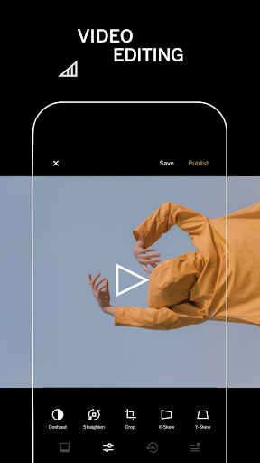 VSCO: Photo & Video Editor screenshot 1
