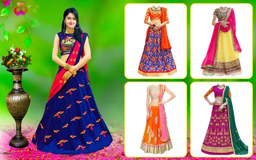 Bridal Lehenga, Lehenga Choli & Saree Photo Editor screenshot 2