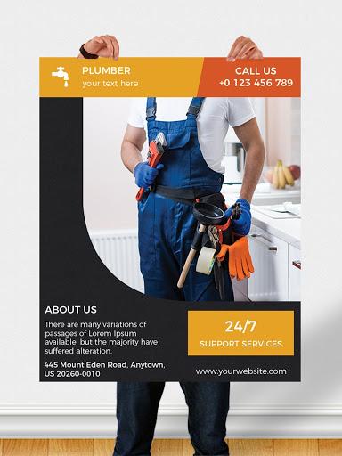 Flyers, Poster Maker, Graphic Design, Banner Maker 22 تصوير الشاشة
