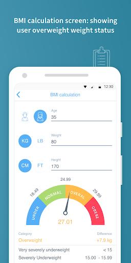 Your BMI Calculator: Body Mass screenshot 4
