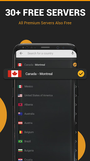 XX VPN - Hot Fast Hotspot & Unlimited Secure Proxy screenshot 3