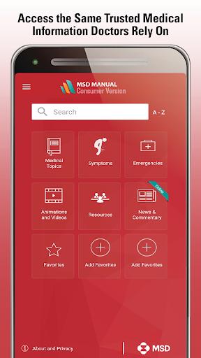 MSD Manual Consumer screenshot 1
