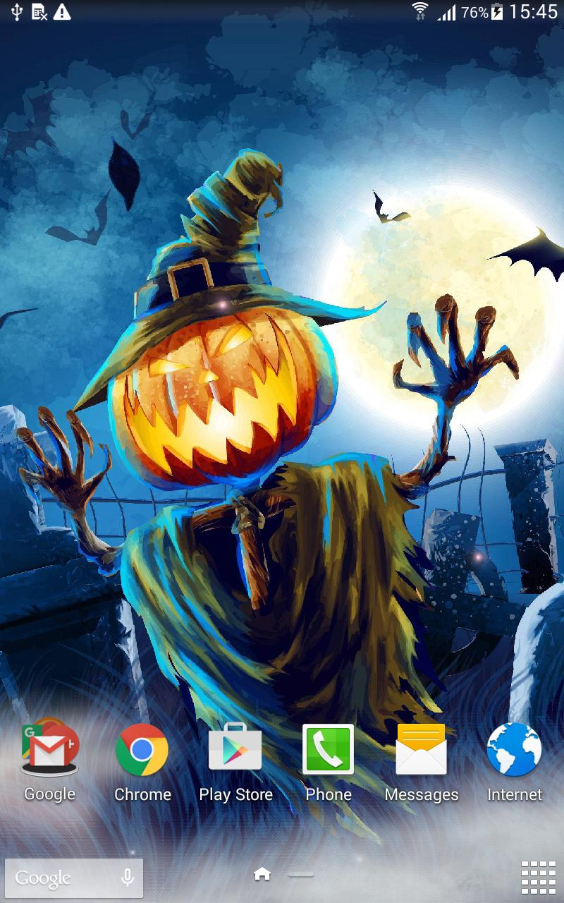 Halloween Live Wallpaper screenshot 9