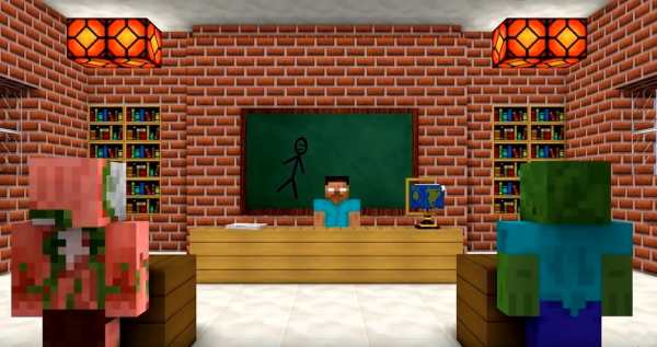Monster School Mod for MCPE screenshot 1