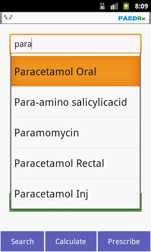 Kids Drug Dosage Calc - PaedRx screenshot 1