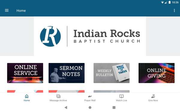 Indian Rocks Baptist Church screenshot 7
