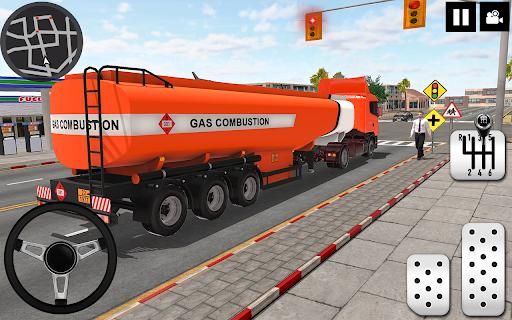 Oil Tanker Truck Driver 3D - Free Truck Games 2020 screenshot 2