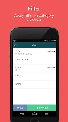 Niftyapp - Magento Mobile App screenshot 5