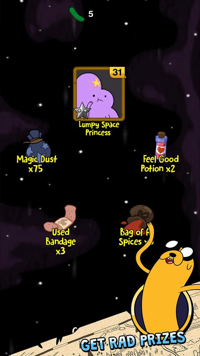 Adventure Time Puzzle Quest 5 تصوير الشاشة