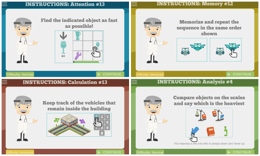 60 Brain Games: Free Mental Training! 4 تصوير الشاشة