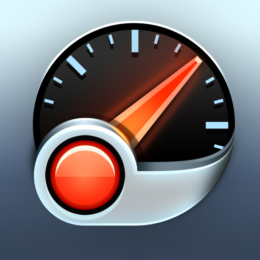 Speed Tracker. GPS Speedometer and Trip Computer icon