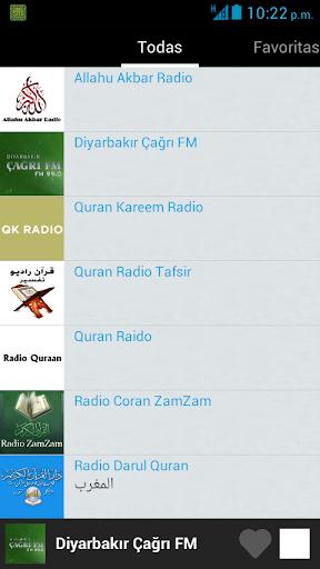 راديو الإسلام 4 تصوير الشاشة