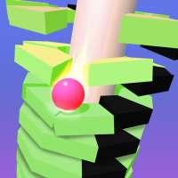 Helix Stack Ball Permainan: Jump Bouncing Balls 3D on 9Apps