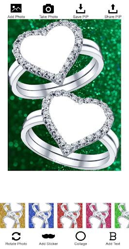 Lovely Ring Photo Frames screenshot 1