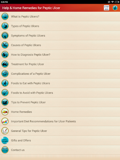 Peptic Ulcers Treatment & Help for Stomach Ulcers screenshot 9