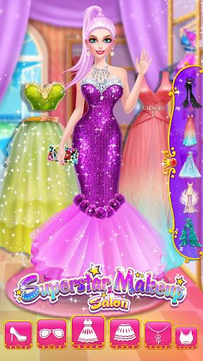 ⭐👧Superstar Makeup Salon - Girl Dress Up 6 تصوير الشاشة