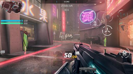 Infinity Ops: Online FPS Cyberpunk Shooter स्क्रीनशॉट 1