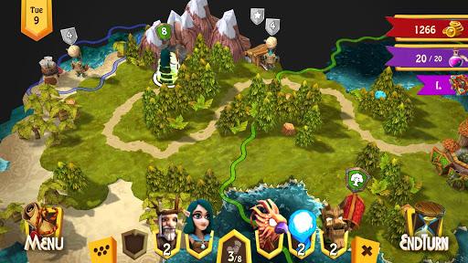 Heroes of Flatlandia - Turn based strategy screenshot 1