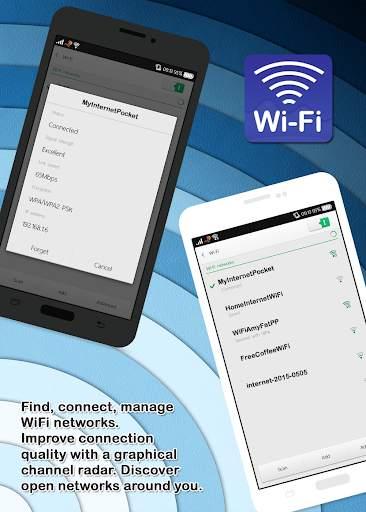 مدير تحليل شبكات الواي فاي المجاني 2 تصوير الشاشة