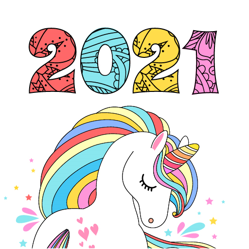 Coloring Book 2021 icon