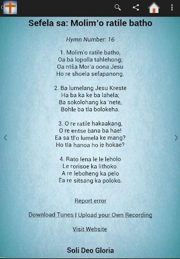 Difela Hymns Collection 2 تصوير الشاشة
