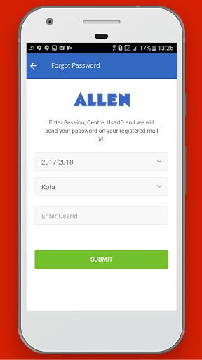 Allen CSAT screenshot 4