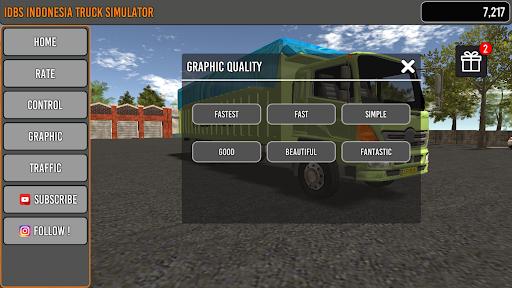 IDBS Indonesia Truck Simulator screenshot 4
