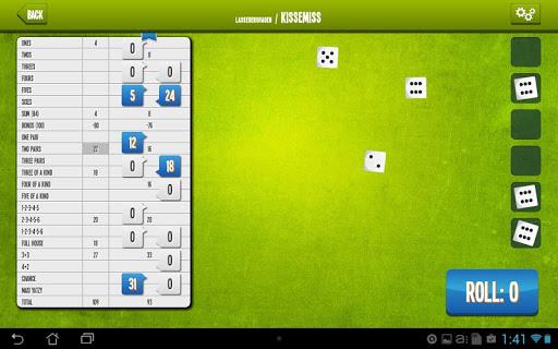 Yatzy Online screenshot 9