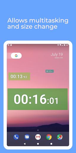 Stopwatch: floating multitasking timer screenshot 6