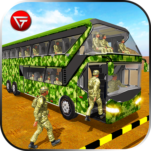 Army Bus Driver 2021:Real Military Coach Simulator icon