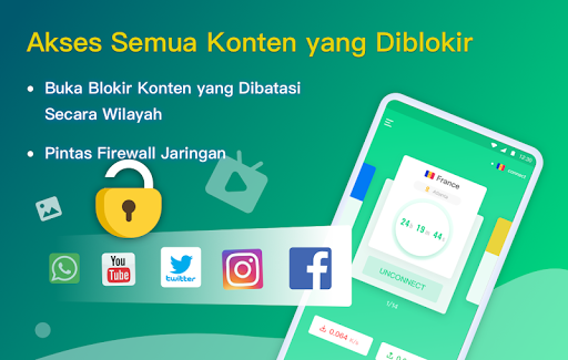 NetCapsule VPN | Proksi Gratis, Cepat, Buka Blokir screenshot 3