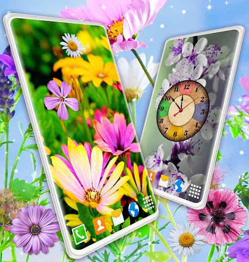 Spring Flowers Live Wallpaper 🌻 Summer Wallpapers скриншот 5