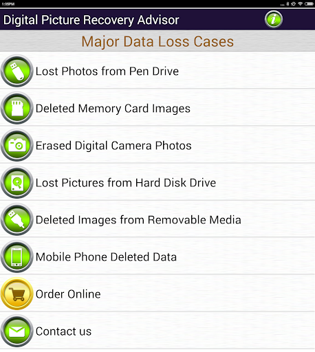 Photos Recovery Software Help screenshot 9