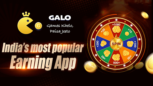 GALO Earn money Play games screenshot 1