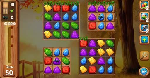 Самоцветы или кристаллы ?  Три в ряд screenshot 7