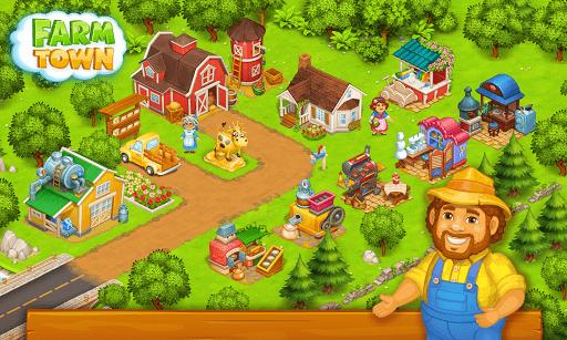 Farm Town: Happy farming Day & food farm game City screenshot 6