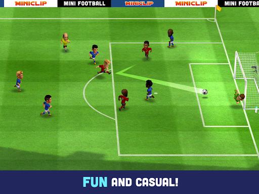 Mini Football - Mobile Soccer screenshot 8
