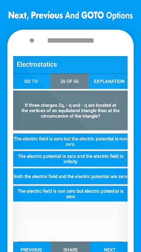 Physics MCQs with Answer and Explanations screenshot 5